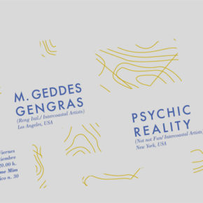 ABSTRACT TRIPS Vol.5  M.GEDDES GENGRAS (Los Angeles) + PSYCHIC REALITY (Nueva York)