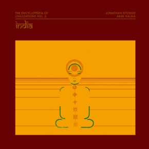 "ABST012 - JONATHAN FITOUSSI / ARIEL KALMA ""The Encyclopedia of Civilizations vol. 3: India"" LP"