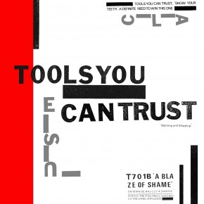 """B.F.E.29 - TOOLS YOU CAN TRUST """"Working And Shopping"""" LP (Sold Out)"""