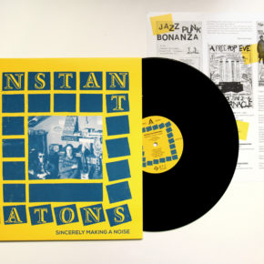 """B.F.E.34 - INSTANT AUTOMATONS """"Sincerely Making A Noise"""" LP (Sold Out)"""